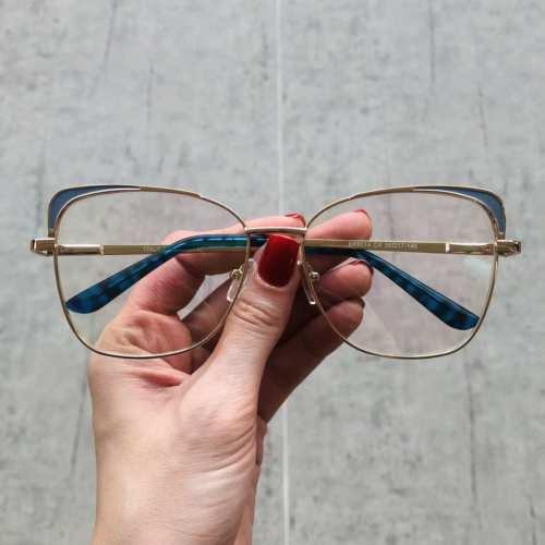 oticagriss oculos de grau gatinho azul 179 1