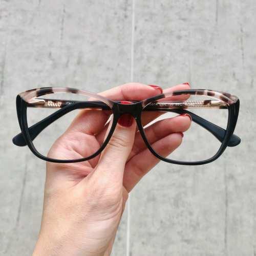 oticagriss oculos de grau gatinho tartaruga com rosa 181 3
