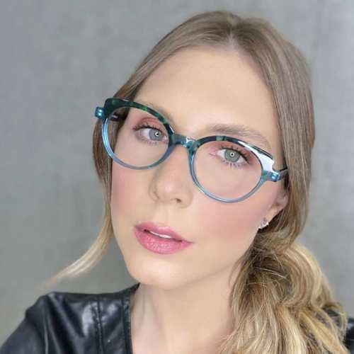oticagriss oculos de grau gatinho verde com tartaruga 184 1