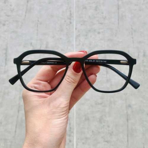 oticagriss oculos de grau quadrado preto 182 2