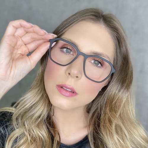 oticagriss oculos de grau quadrado preto fosco 182 1