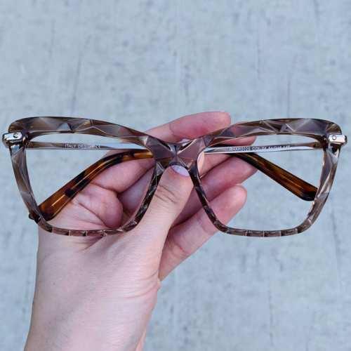 oticagriss oculos de grau gatinho marrom 191 1