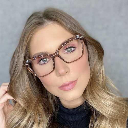 oticagriss oculos de grau gatinho marrom 191 3