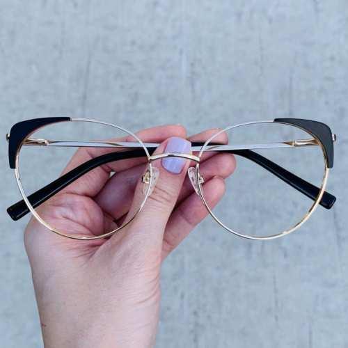 oticagriss oculos de grau gatinho preto 190 2