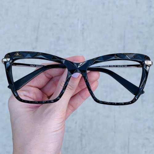 oticagriss oculos de grau gatinho preto 191 1