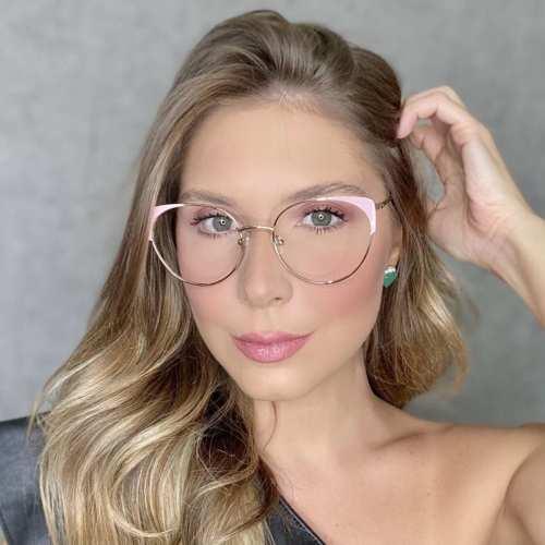 oticagriss oculos de grau gatinho rosa 190 1