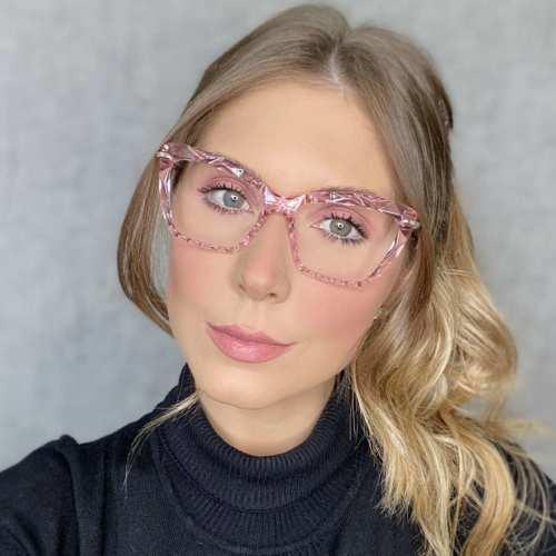 oticagriss oculos de grau gatinho rosa 191 3