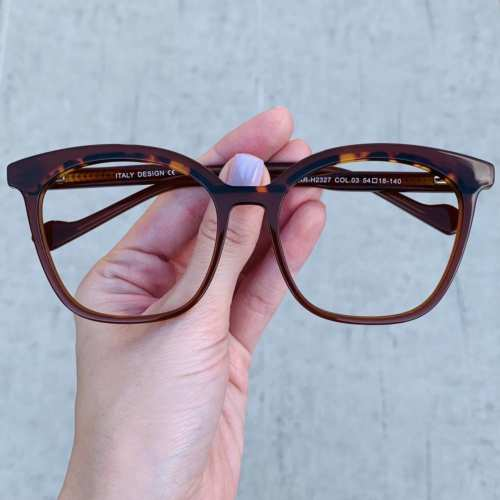 oticagriss oculos de grau quadrado nude 187 4