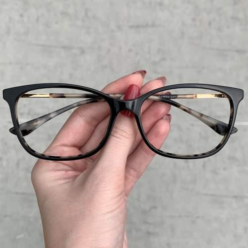 oticagriss oculos de grau quadrado preto 204