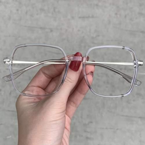 oticagriss oculos de grau quadrado transparente 208