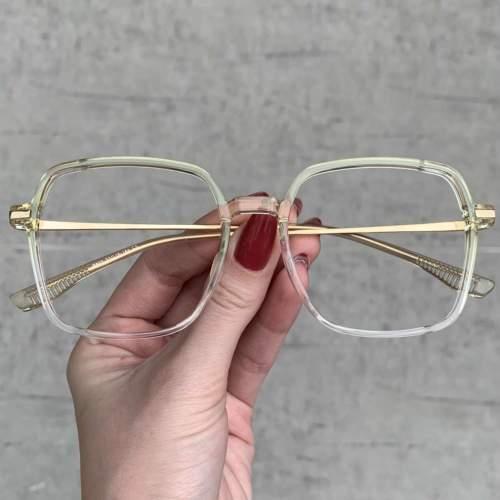 oticagriss oculos de grau quadrado verde 208
