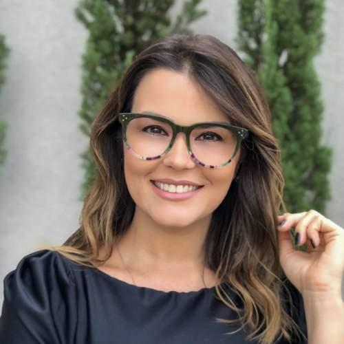 oticagriss oculos de grau retangular verde 209 3