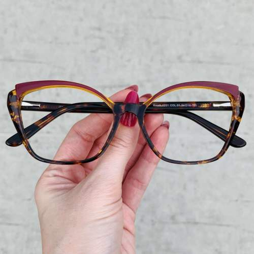oticagriss oculos de grau gatinho tartaruga 214 1