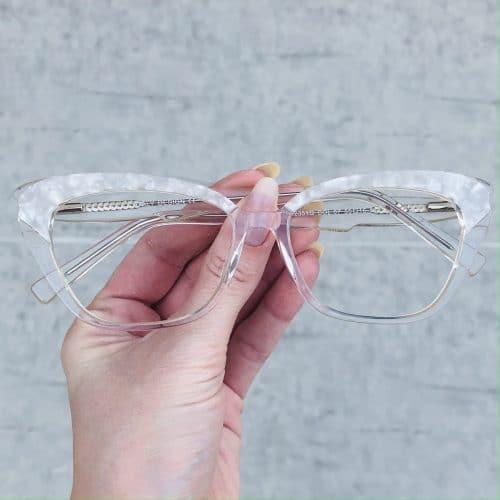oticagriss oculos de grau em acetato gatinho madreperola 223