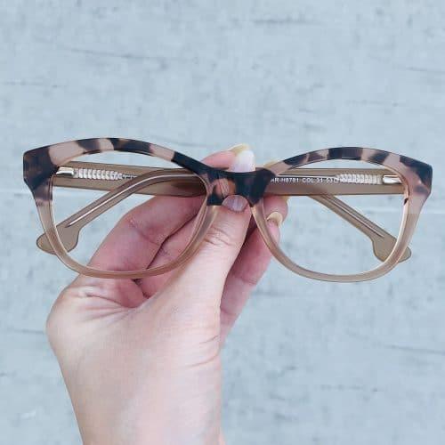 oticagriss oculos de grau em acetato gatinho nude 225 2