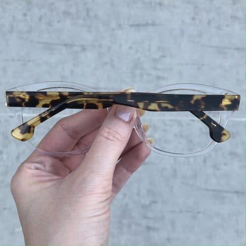 oticagriss oculos de grau em acetato gatinho transparente 225 1