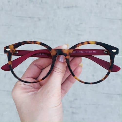 oticagriss oculos de grau em acetato redondo tartaruga 224