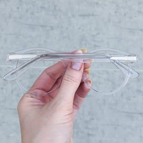 oticagriss oculos de grau em acetato redondo transparente 224 1