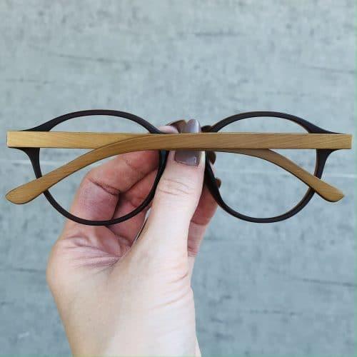 oticagriss oculos de grau redondo marrom 221 1