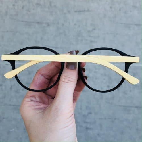 oticagriss oculos de grau redondo preto 221 1