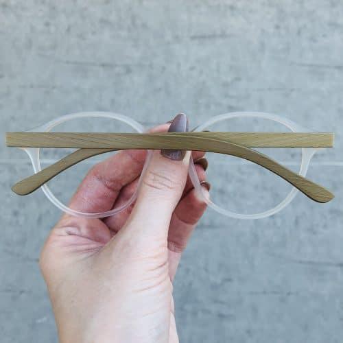oticagriss oculos de grau redondo transparente 221 1