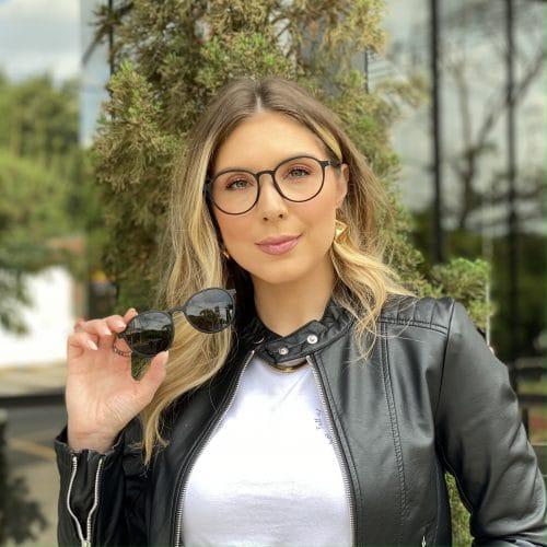 oticagriss oculos clip on 2 em 1 redondo preto fosco 237 5