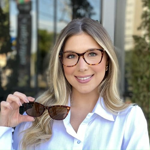 oticagriss oculos clip on em acetato gatinho tartaruga 228 4