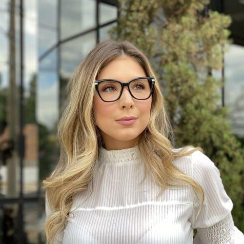 oticagriss oculos de grau gatinho preto 238 3