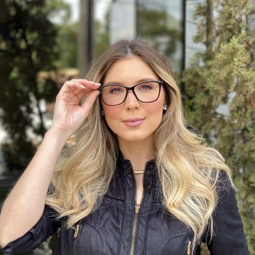 oticagriss oculos de grau quadrado preto 234 2